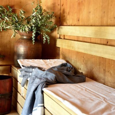 Sauna - Herbal sauna couch