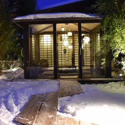Wellness Garden Winter 2017 Night Tea House